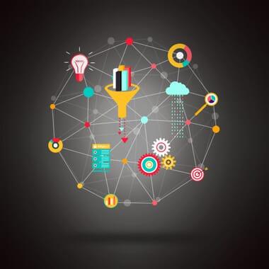 Big Data Analytics and Research - Dark Background